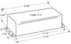 72C5381NP Advance - Dimensions