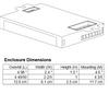 ICF-2S26-H1-LD Advance Dimensions