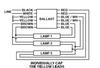 Universal USB-0816-14Sign Magnetic Ballast - 3 Lamp Wiring