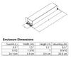 ICN-2S54-N Advance Dimensions