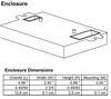 ICF-2S18-M1-BS Advance Compact Fluorescent Ballast - Dimensions