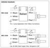 Robertson PSP2GPH40HOIVDW UV Germicidal Ballast - Wiring