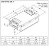Robertson PSP2GPH40HOIVDW UV Germicidal Ballast - Dimensions