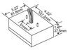MC70-1J-120U Hatch Dimensions