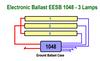 EESB-1048-26L-120-277V 3 Lamp Wiring