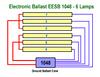 EESB-1048-26L-120-277V 6 Lamp Wiring