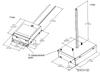 QTP1X70MH/UNV-J Sylvania (51913) - Dimensions