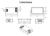 OT40W Optotronic LED Power Supply - F style