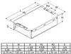 PSP242TRMVW Robertson Electronic Ballast - Dimensions