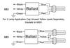 PSP242TRMVW Robertson Electronic Ballast - Wiring