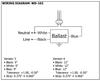 Robertson HP2627P Bottom Exit Studs - Wiring