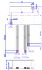 EUC-040S700PS Inventronics LED Driver Dimensions