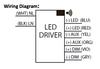 D15CC55UNVPWX12-C Universal EVERLINE LED Driver - Wiring