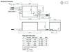 RACD04-350 RECOM Power LED Driver - Dimensions