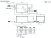 RACD04-700 RECOM Power LED Driver - Dimensions