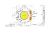 Bridgelux Gen7 Vero10 LED Array - Dimensions