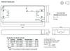 RACV12-12-lP RECOM Power LED Driver- Dimensions