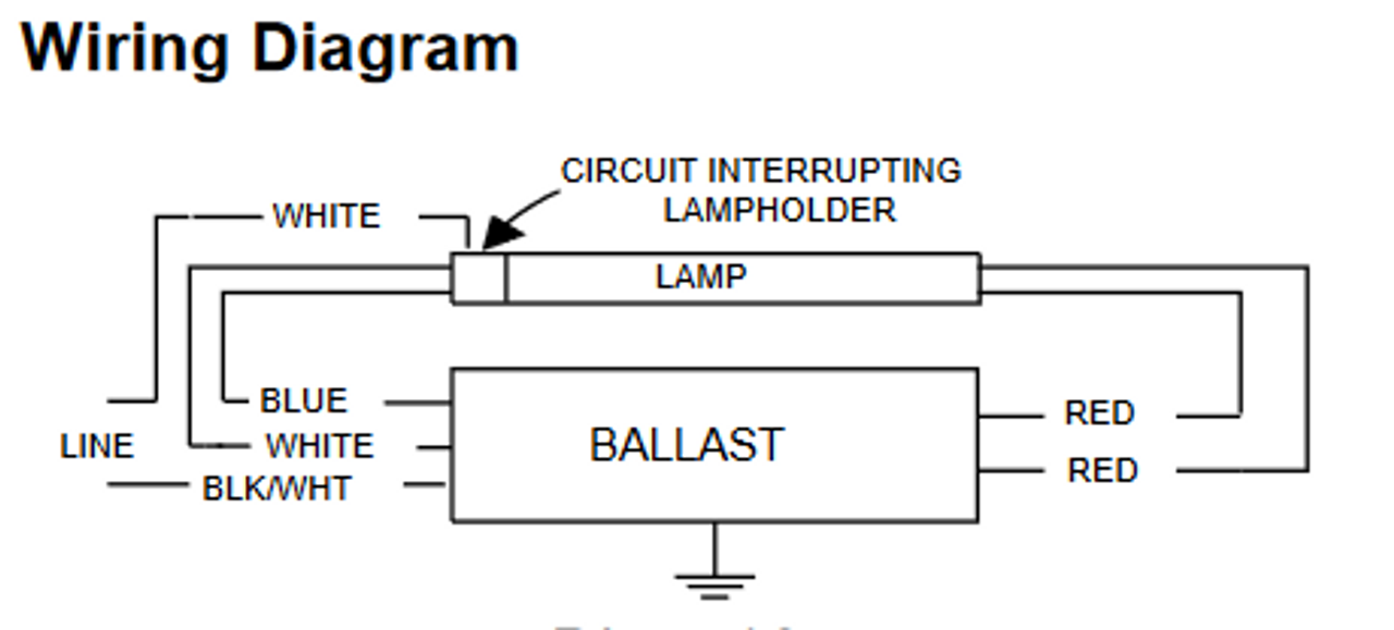 Advance Ballast Wiring Diagram T12ho - Electrical Schematic Wiring on