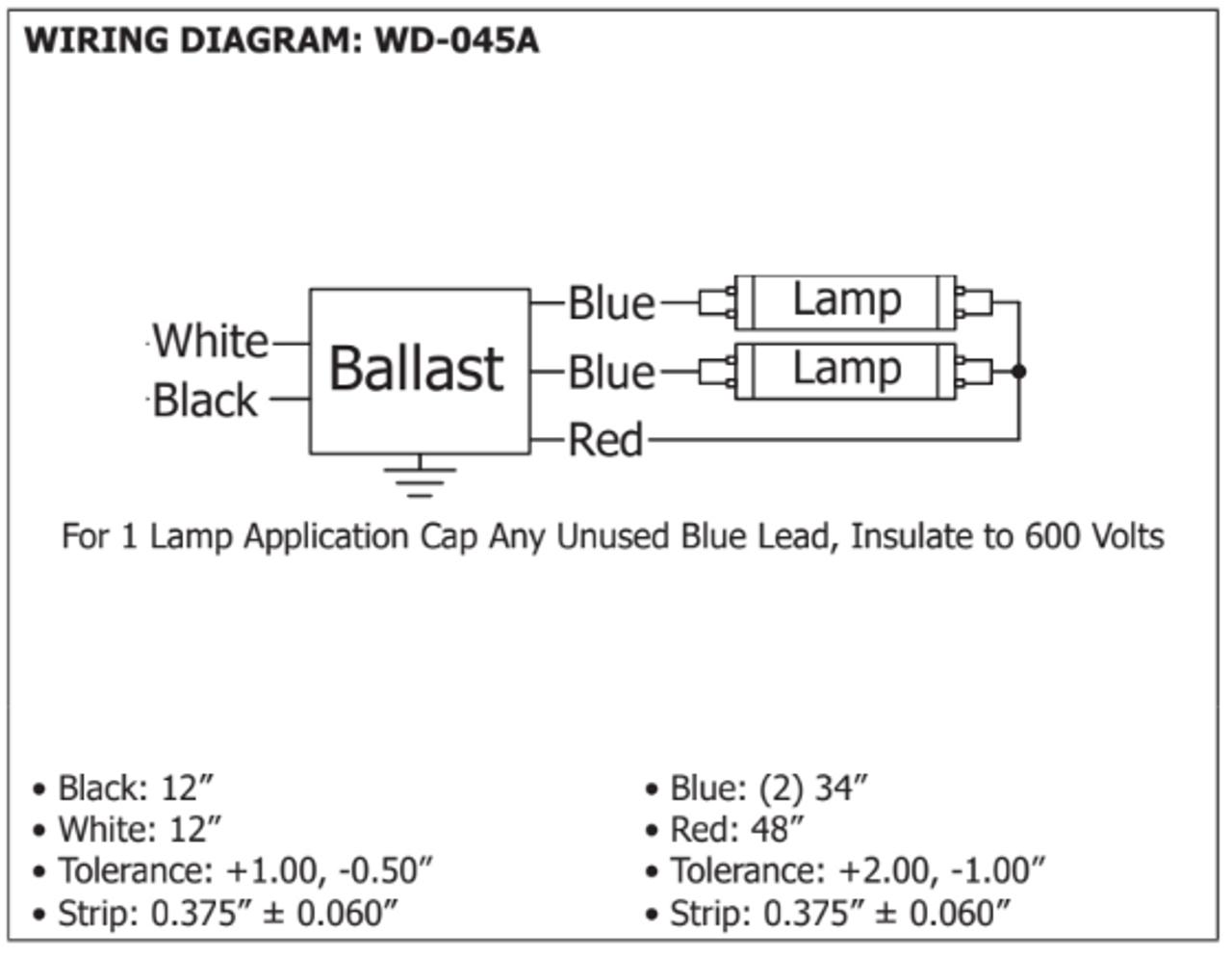 [SCHEMATICS_4LK]  ROBERTSON REI264G6MV Germicidal Ballast | T8 Ballast Wiring Diagram Robertson |  | BallastShop.com