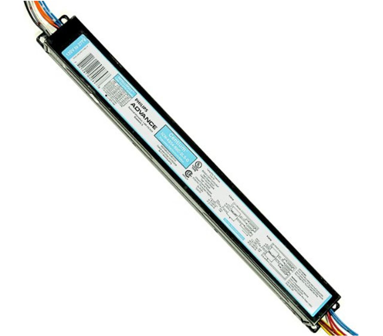 PHILIPS F54T5//HO ELECTRONIC PROGRAMMED START BALLAST 120V-277V T5 HIGH OUTPUT