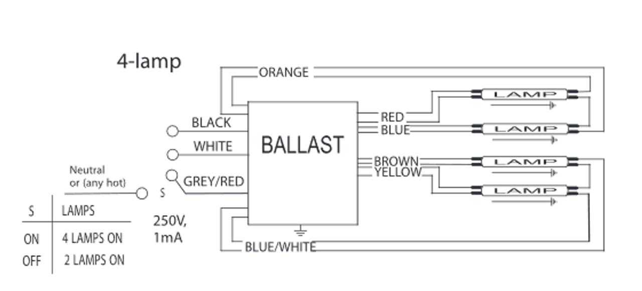 4 Lamp T5ho Wiring Diagram Centium Ballasts Schematic Diagram