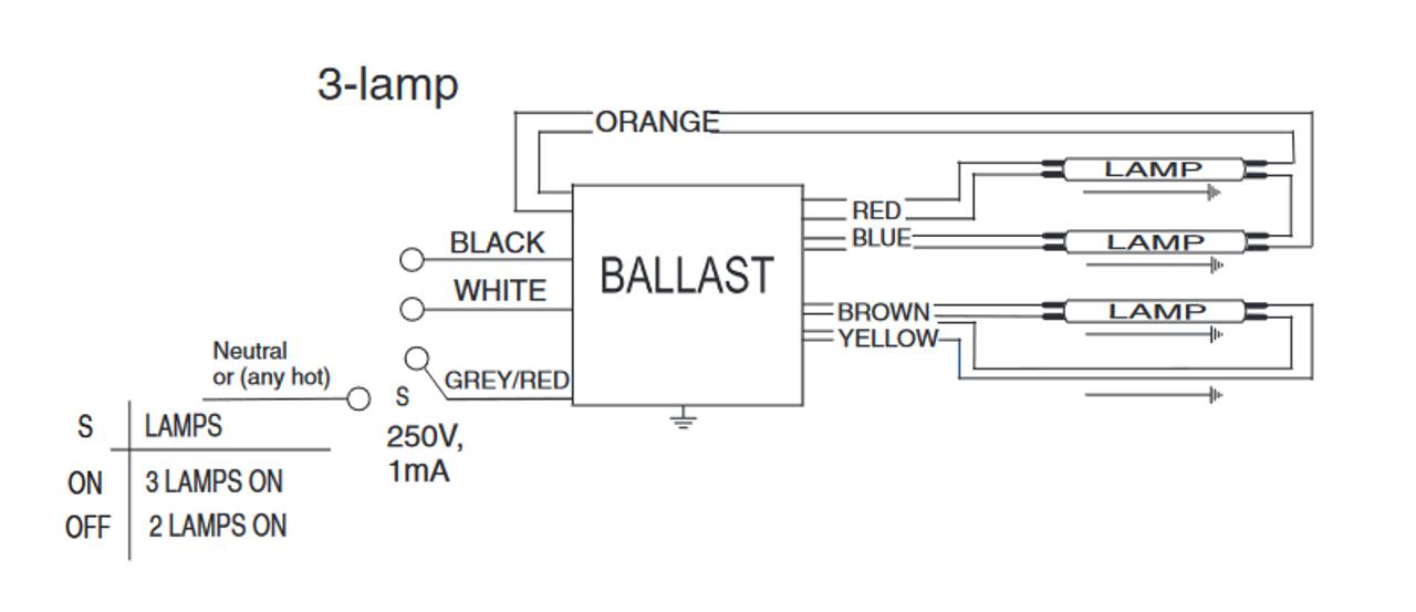 Philips Centium Ballast Wiring Diagram Schematic Diagram