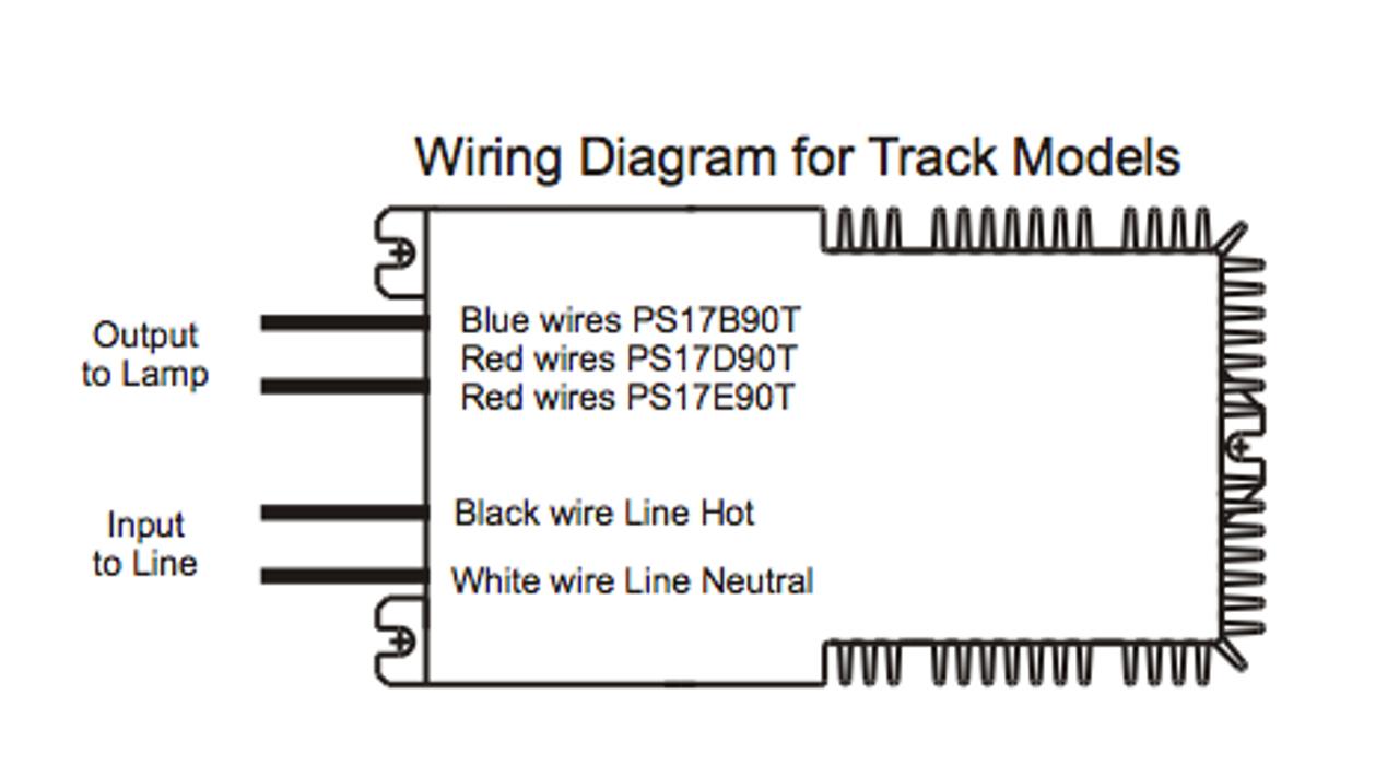 PowerSelect PS17B90T 175W eHID Electronic Metal Halide Ballast on