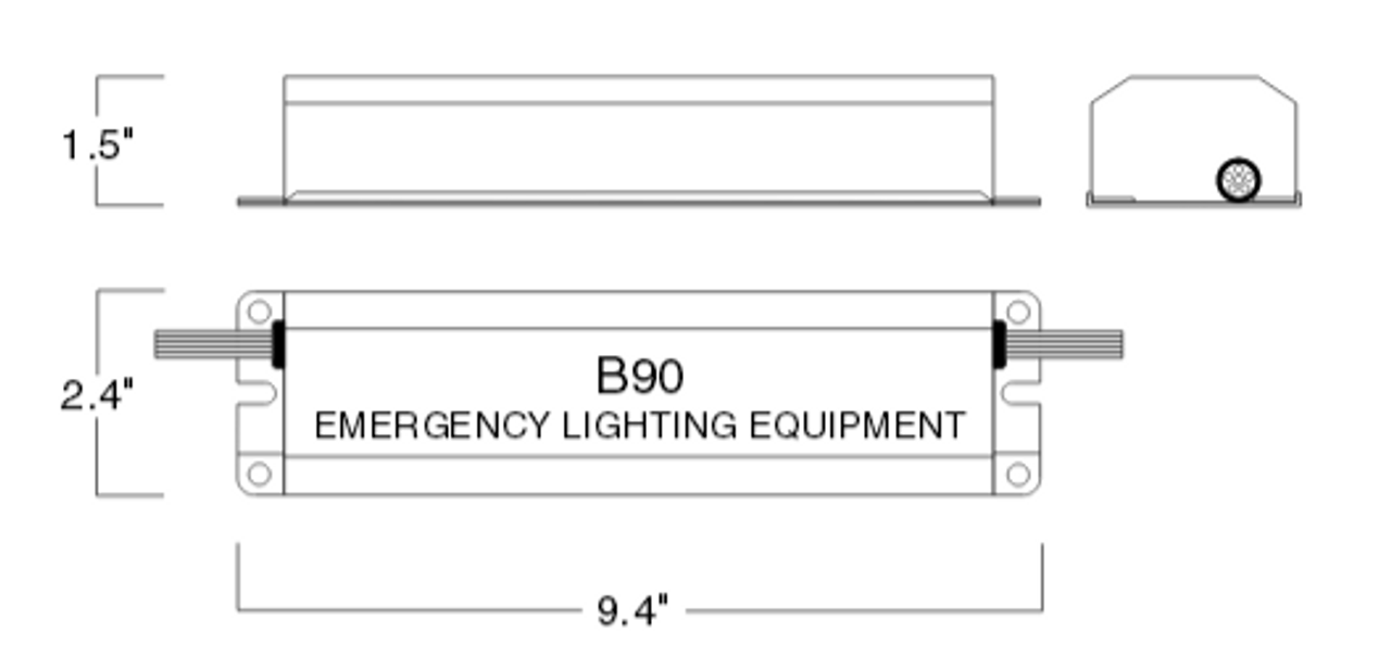 Philips Bodine B90 Emergency Ballast