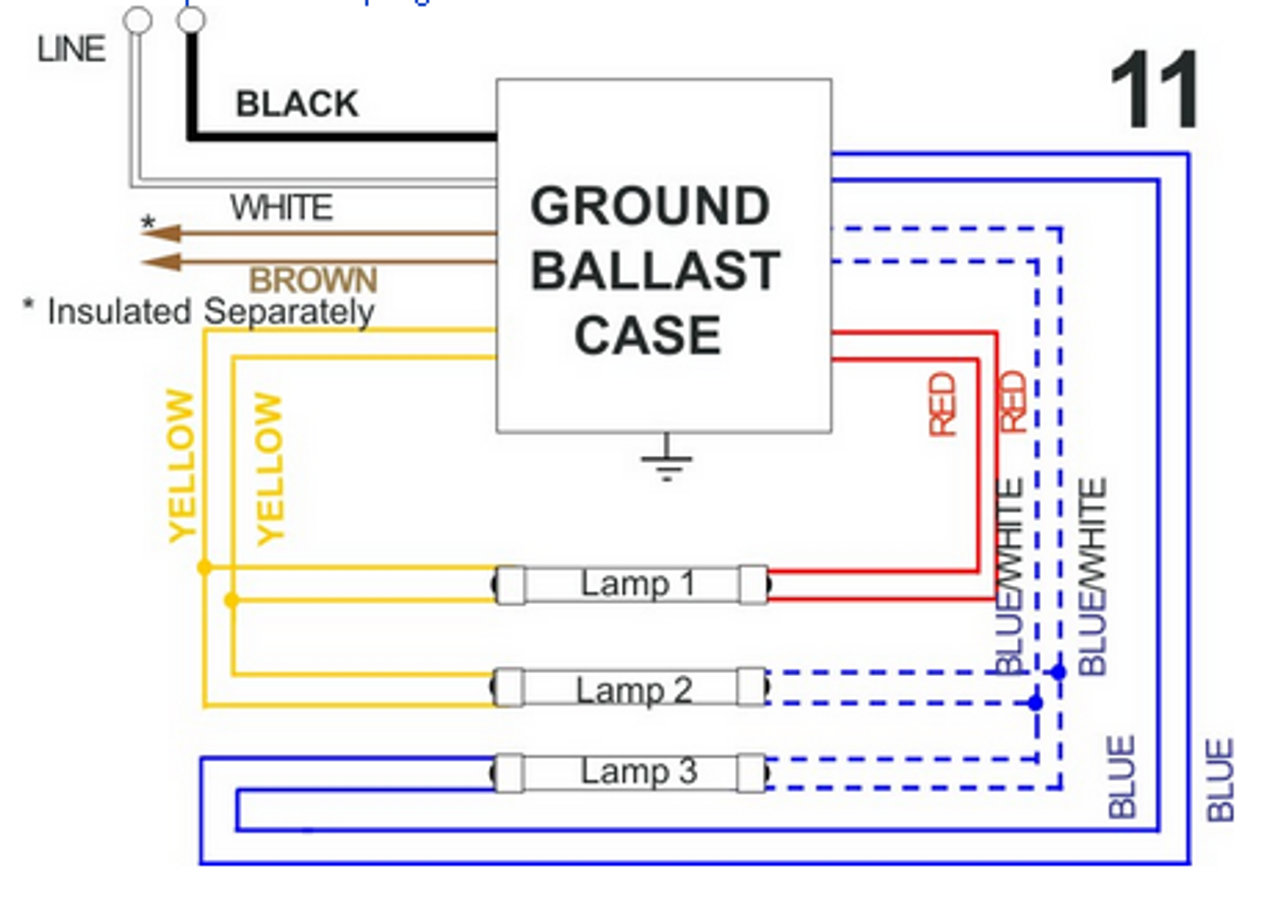 Old Sign Ballast Wiring Diagram on