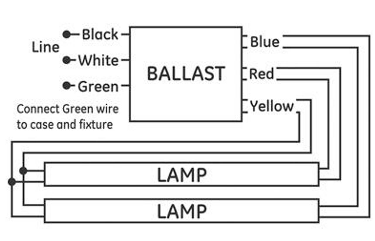 Programmed Start Ballast Wiring Diagram