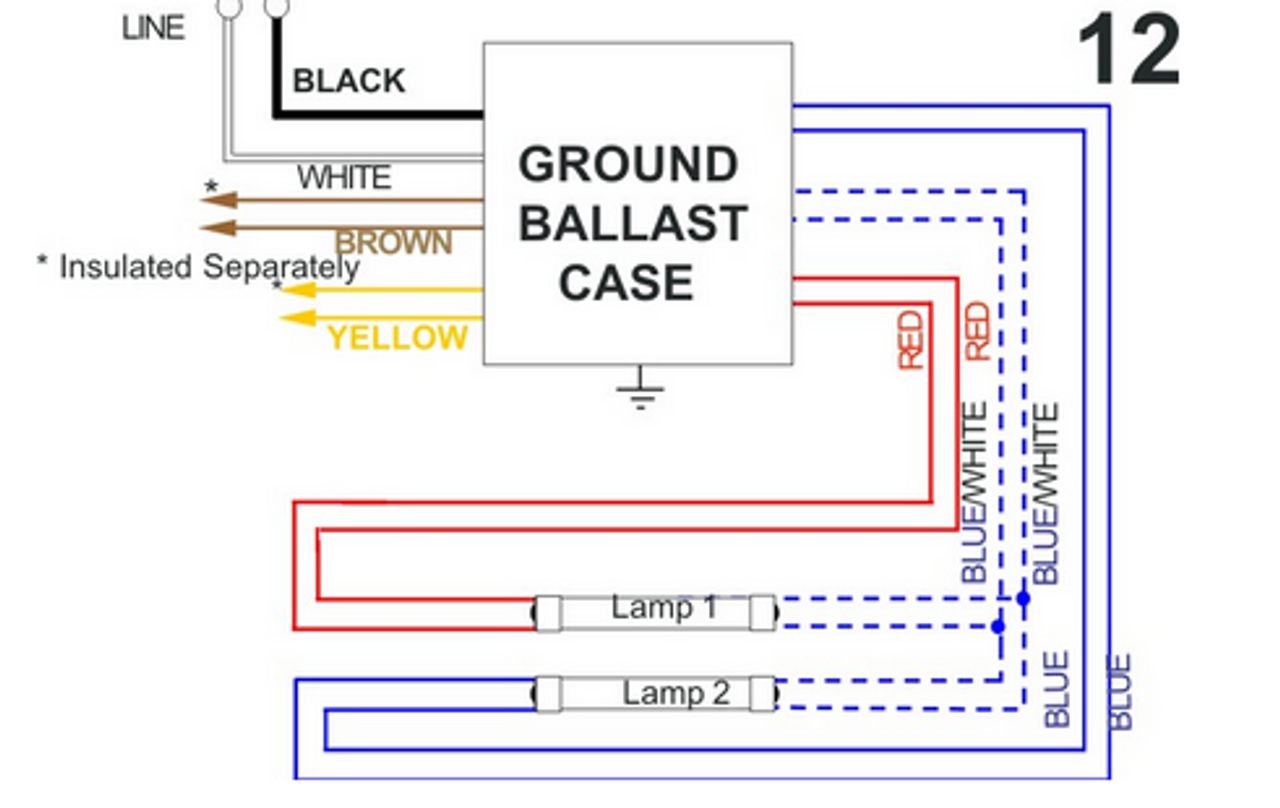 Wiring Diagram On T12 Electronic Ballast Wiring Diagram Also Star