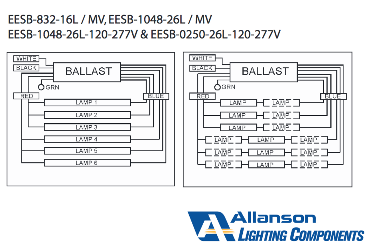 Ballast Wiring Diagram Likewise T8 Electronic Ballast Wiring Diagram
