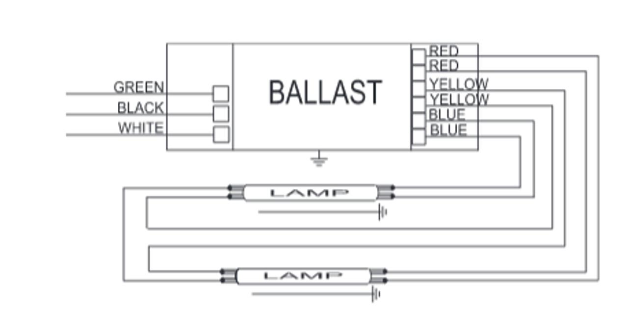 icn-2s54-90c advance electronic fluorescent ballasts   f54t5ho ... advance ballast wiring diagram also l t5 electronic  ballastshop.com