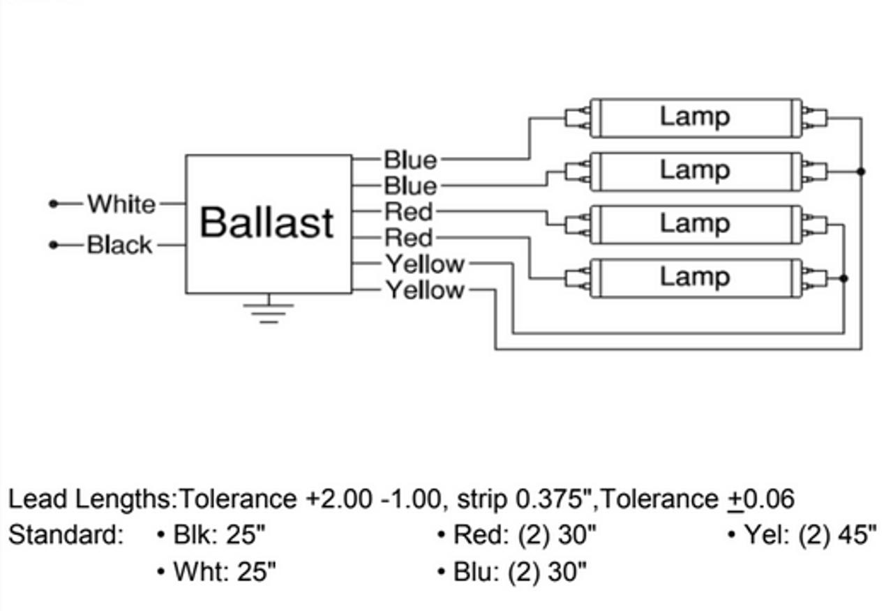 IEA432T8120N (formerly ISL432T812) Robertson Electronic Ballast on