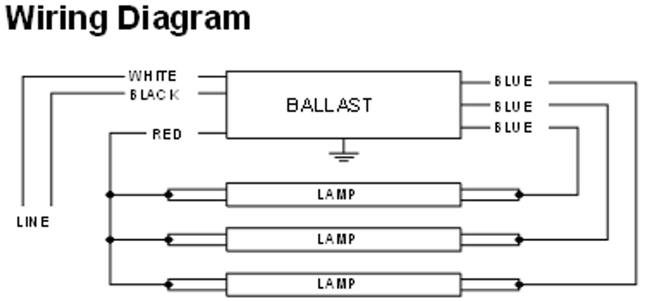 ICN-3P32-N Advance Centium Fluorescent Ballast | Advance Fluorescent Ballast Wiring Diagram |  | BallastShop.com