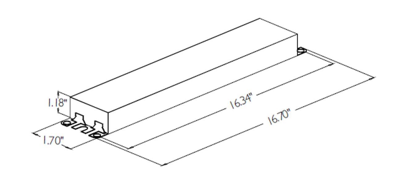 Advance Centium HCN-4S54-90C-2LS-G T5 Ballast