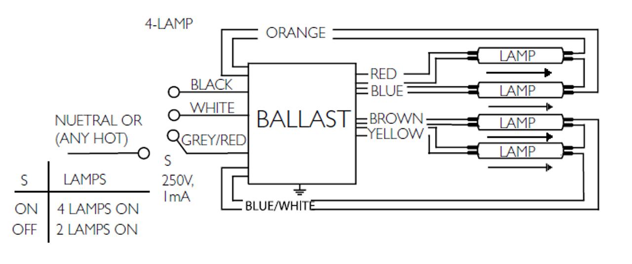 multiple ballast wiring diagram advance centium hcn 4s54 90c 2ls g t5    ballast     advance centium hcn 4s54 90c 2ls g t5    ballast