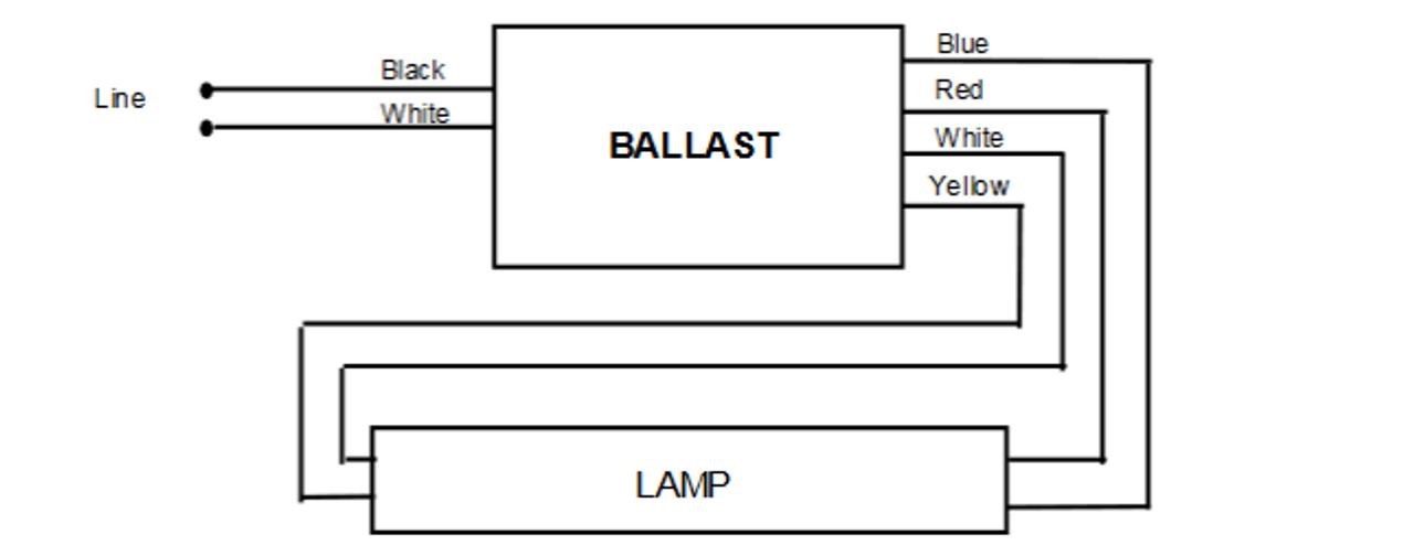 200 c s p universal magnetic (em) fluorescent preheat ballast F40T12 Ballast Wiring Diagram magnetek 200 c s p magnetic ballast wiring
