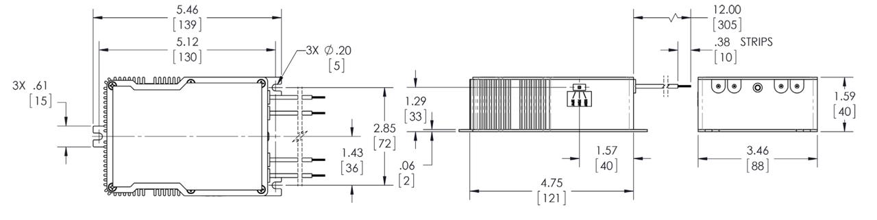 Powerselect Ps13e90t 35w 39w 70w 100w Electronic Metal Halide Ballast