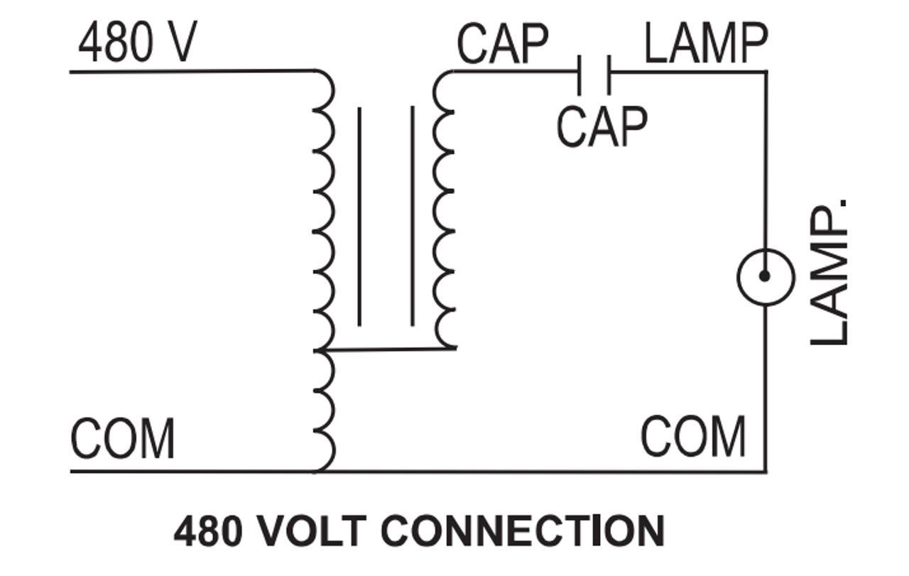 M1500/480-KIT Sylvania 47095 Metal Halide Ballast Kit