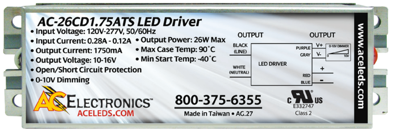 26w Constant Current Led Driver Ac Electronics