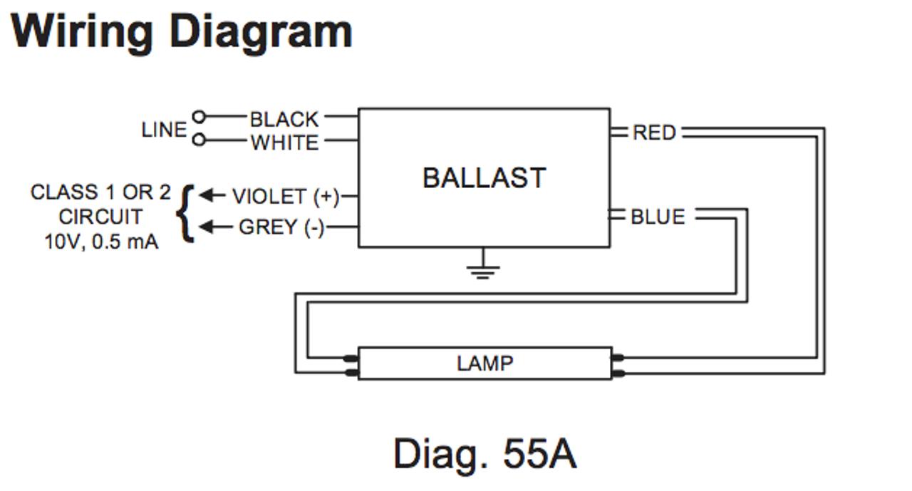Advance Dimming Ballast Wiring Diagram
