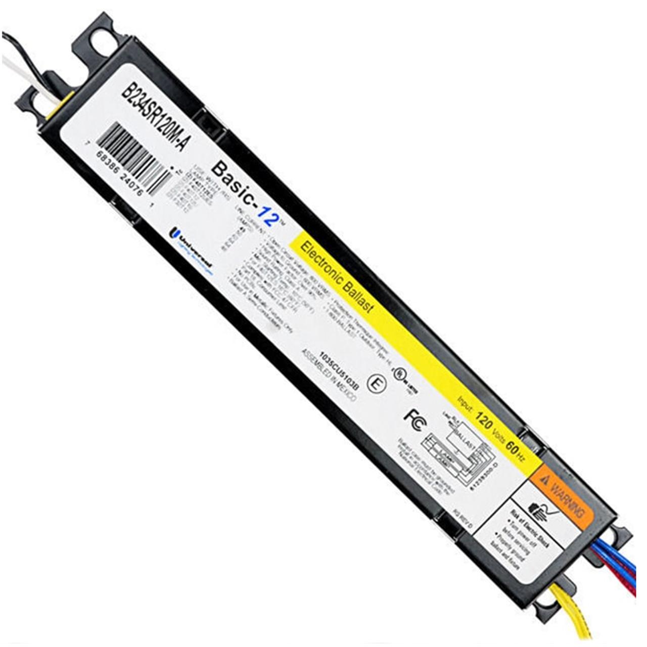 NEW Universal Lighting B340R120HP Electronic Light Ballast 120V 60Hz