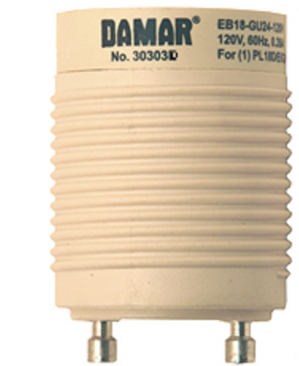 EB13-GU24-120V Damar (30303D) 13W GU24 Socket Ballast Replacement