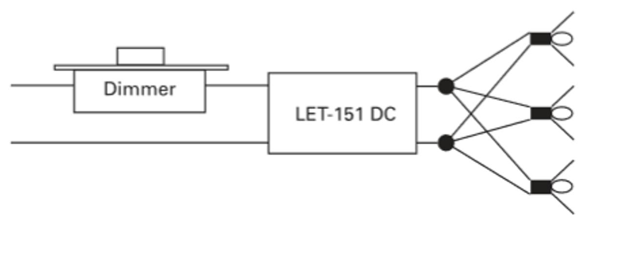 Lightech LET-151 Transformer 150W 12V Output