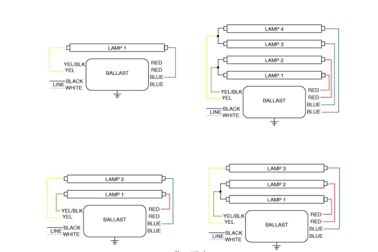 Light Wiring Diagram Fluorescent Light Wiring Diagram For Ballast