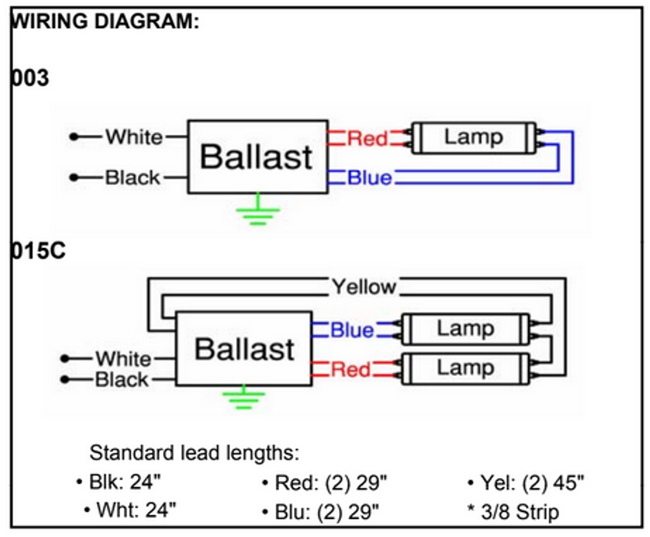 t12 ballast wiring diagram 1 lamp and 2 lamp fluorescent ballast wiring diagrams psa228t5mv robertson t5 fluorescent ballast robertson ballast wiring diagram #3