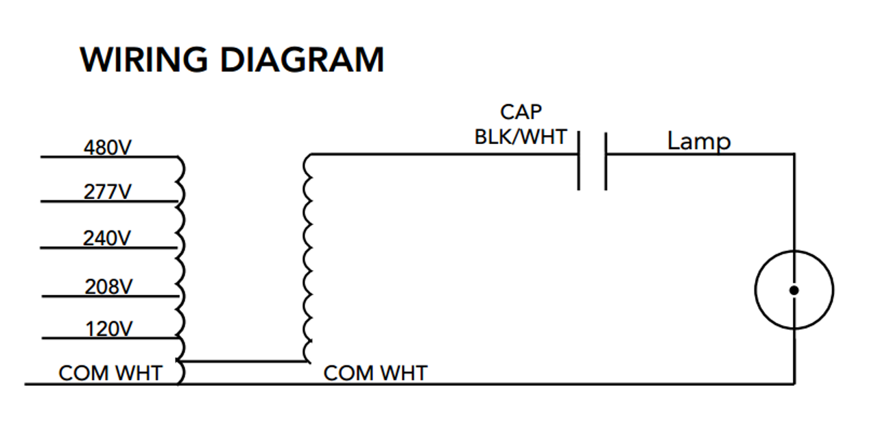 Howard M 1000 5t Cwa K Metal Halide Ballast Kit