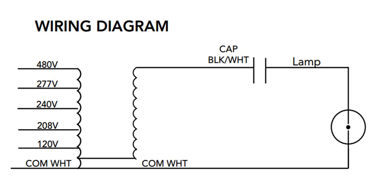 Howard M-1000-5T-CWA-K Metal Halide Ballast Kit on advance ballast wiring, led ballast wiring, venture ballast wiring, ge ballast wiring, lithonia ballast wiring, philips ballast wiring,