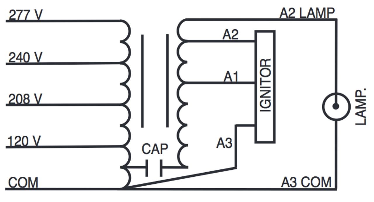 M320/MULTI-PS-KIT Sylvania 47676 Metal Halide Ballast Kit